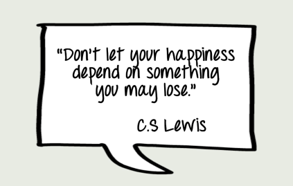c.s lewis happiness quote