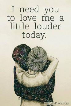 love me a little louder - depression illustration