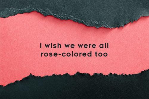 Paramore rose coloured boy lyrics